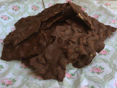 Barkbitar bark thins choklad med pumpakärnor