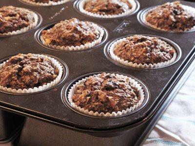 Micro muffins med blåbär