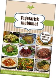 Vegetarisk snabbmat - 10 recept under 30 minuter