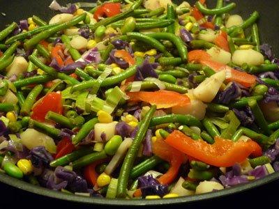 vegetarisk stir fry