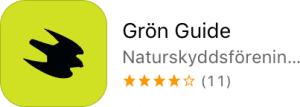 Naturskyddsföreningens gröna app