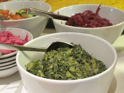 stuvad grönkål långkål vegetariskt julbord
