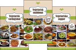 Ät Mer Vegetariskt omslag alla böcker