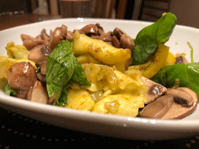 Tortellini med grönsaker